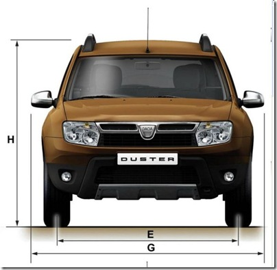 Duster dimensions