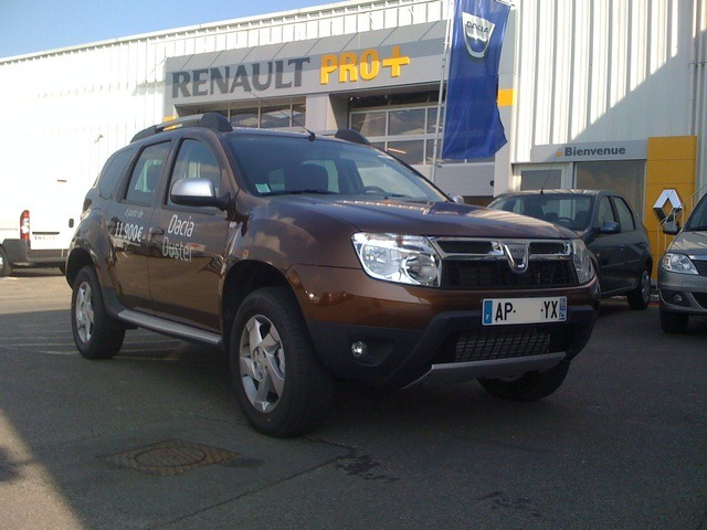 dacia duster on bioethanol available in france. Black Bedroom Furniture Sets. Home Design Ideas