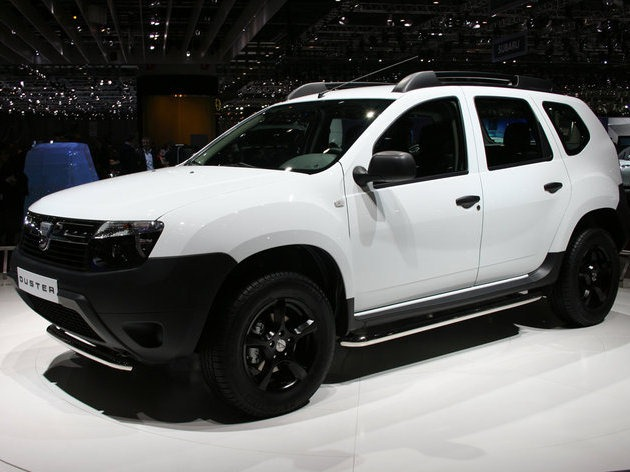 dacia duster in geneva motor show 2011. Black Bedroom Furniture Sets. Home Design Ideas