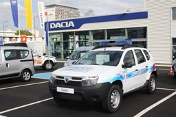 Duster-Police-Car