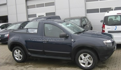 Dacia-Duster-Pickup