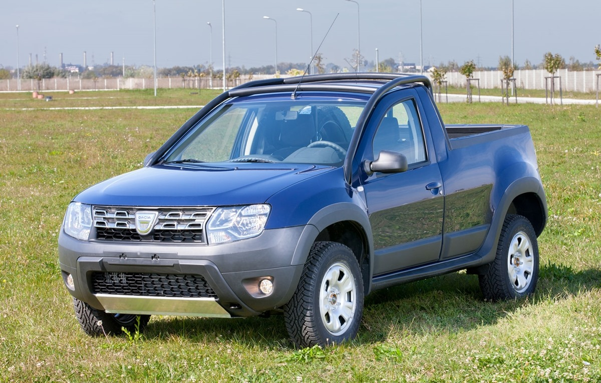 dacia duster pick up second edition launched. Black Bedroom Furniture Sets. Home Design Ideas