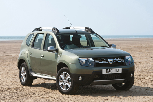 dacia presented the first 4 4 euro 6 duster. Black Bedroom Furniture Sets. Home Design Ideas