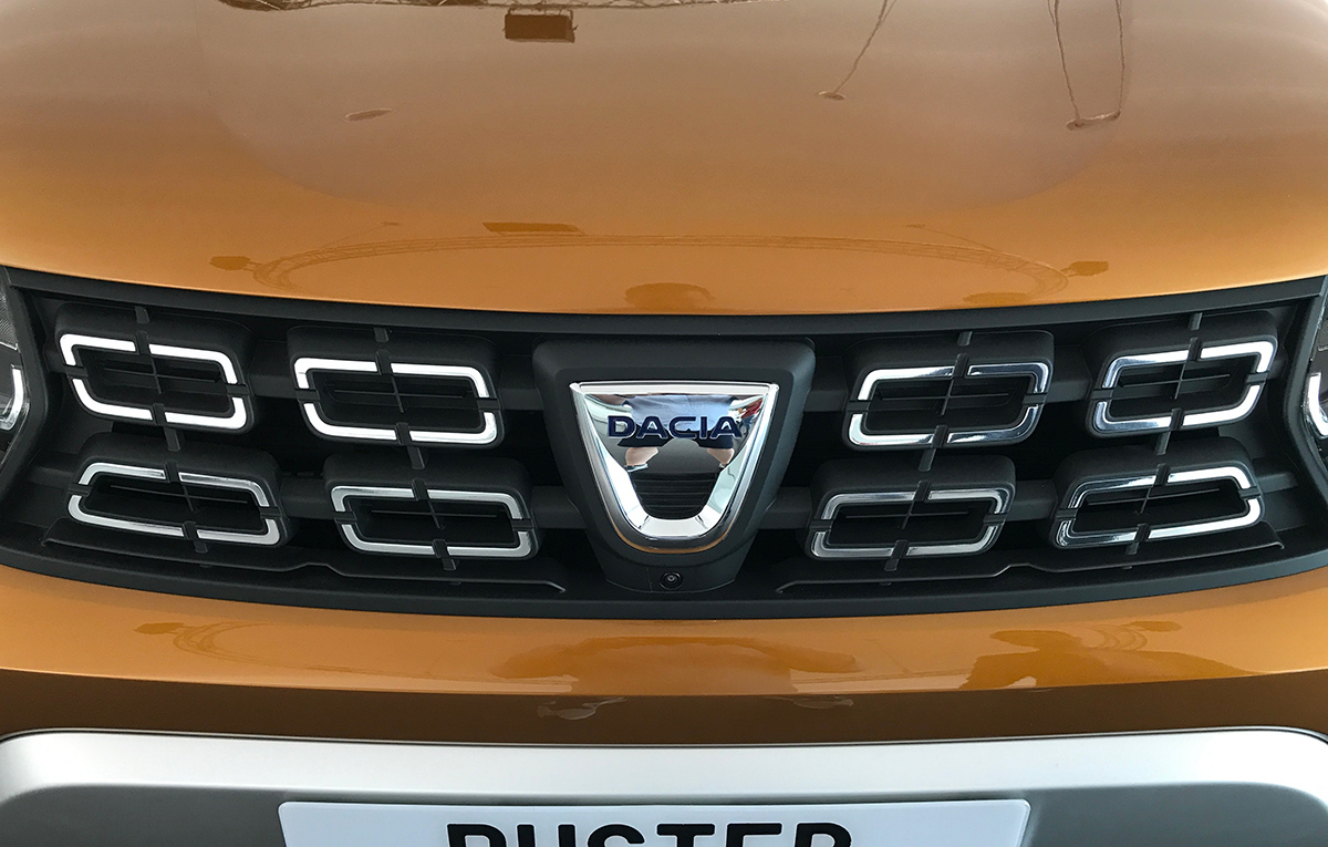 Duster 2018 grille