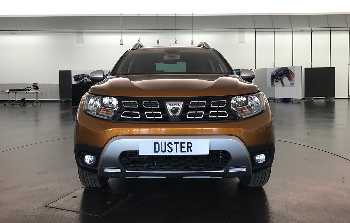 Duster 2018 new look