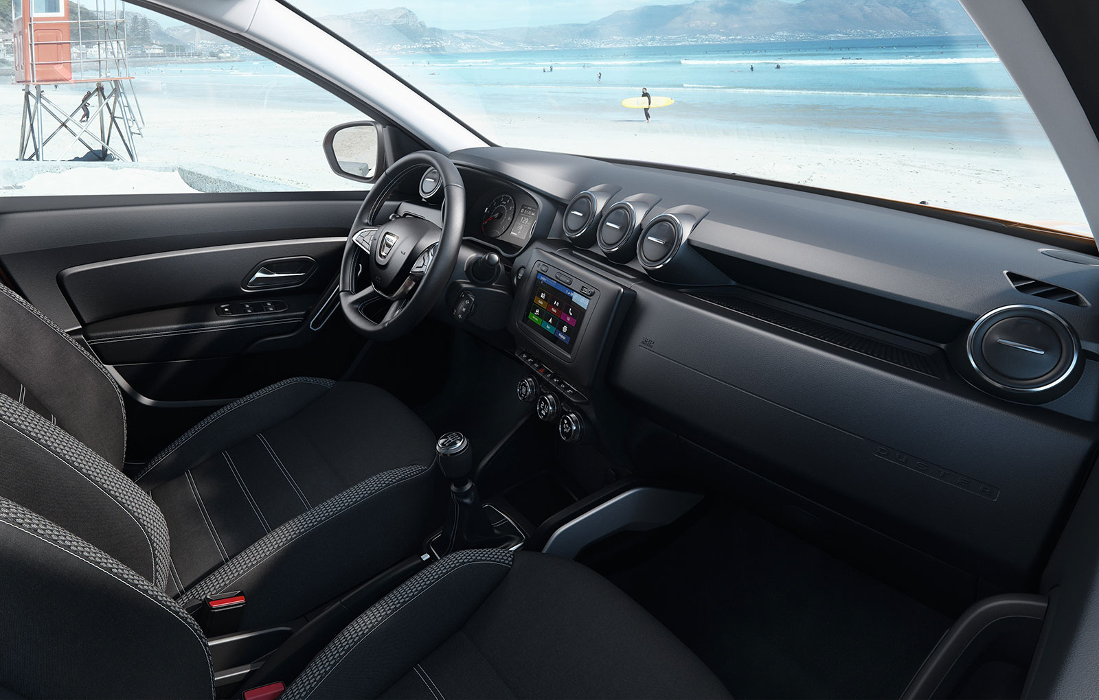 Dacia launched the new duster 2018 for New interior